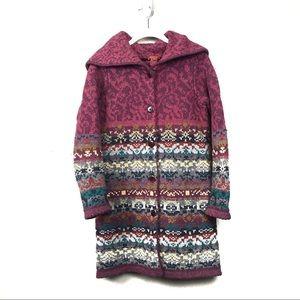 Sundance lambswool cardigan sweater xs